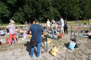 Zakonczenie letniego semestru- Grill nad Isara